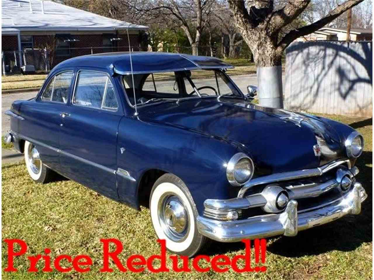 1951 Ford DELUXE 2 DOOR SEDAN for Sale - CC-762478