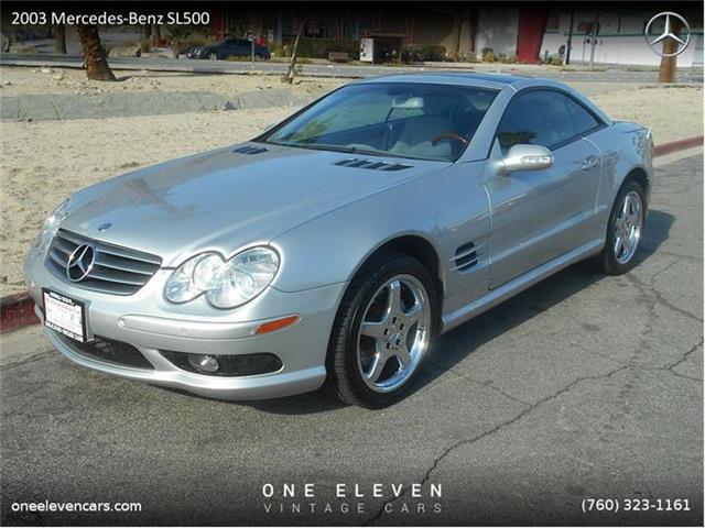 2003 Mercedes-Benz SL500 | 763223
