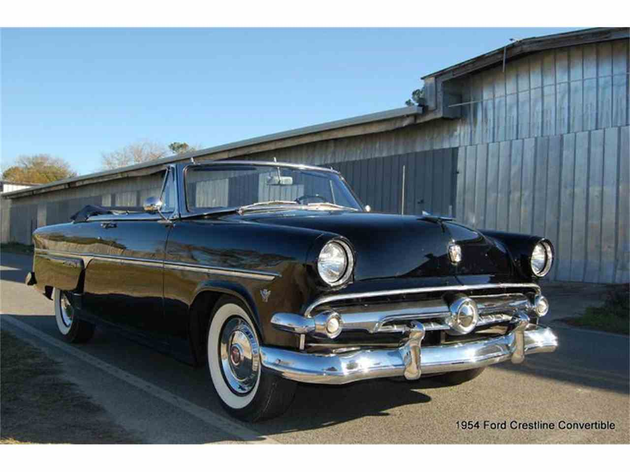1954 ford crestline for sale cc 763347. Black Bedroom Furniture Sets. Home Design Ideas