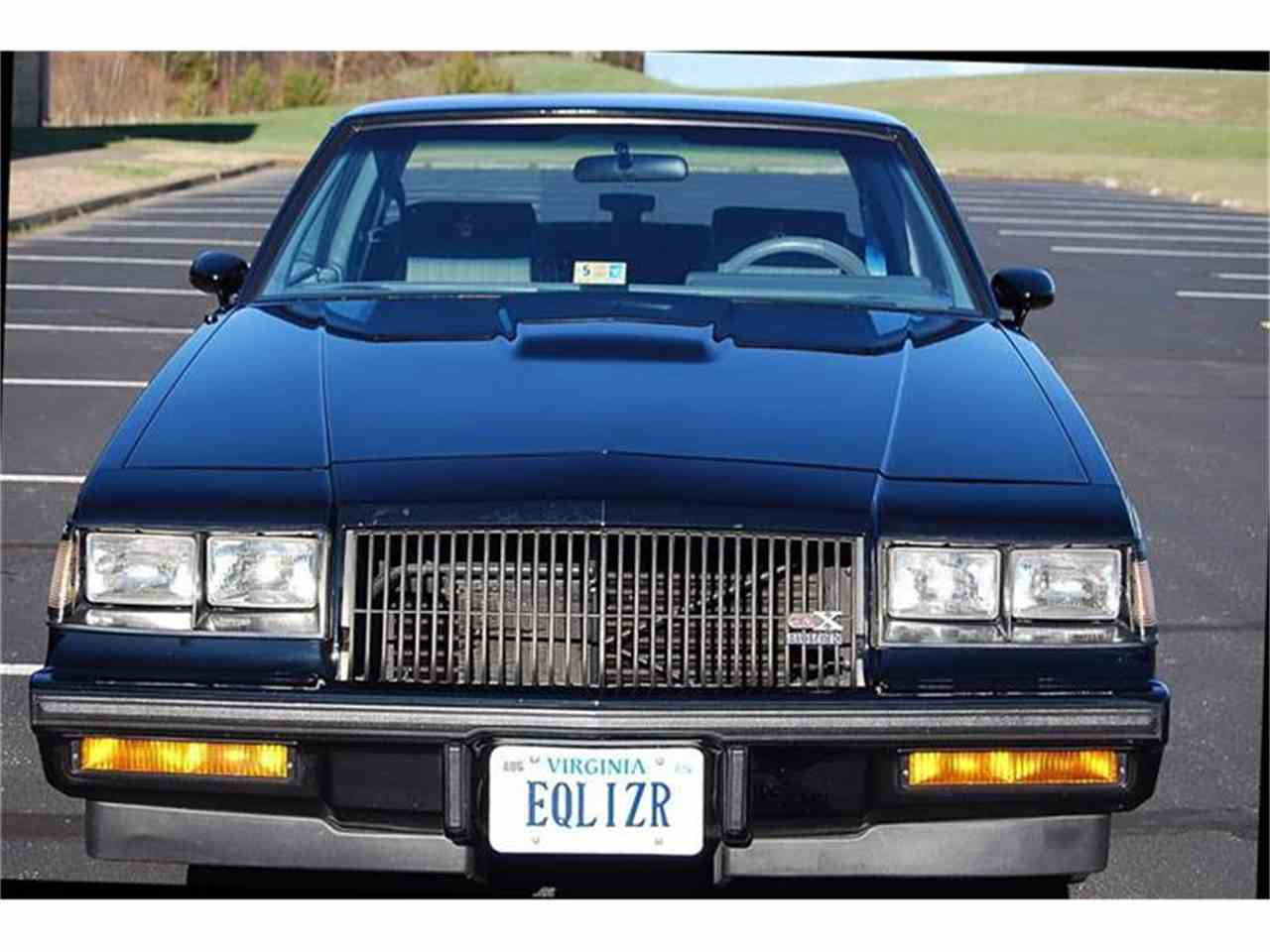 1987 buick gnx for sale cc 764865. Black Bedroom Furniture Sets. Home Design Ideas