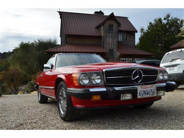 1988 Mercedes-Benz 560SL | 760514