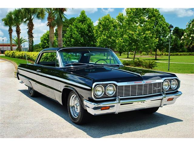 1964 chevrolet impala for sale on 75 available. Black Bedroom Furniture Sets. Home Design Ideas