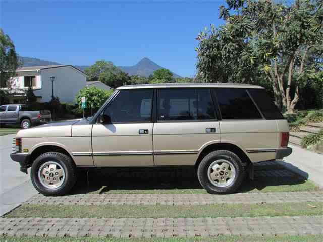 1993 Land Rover Range Rover | 765416