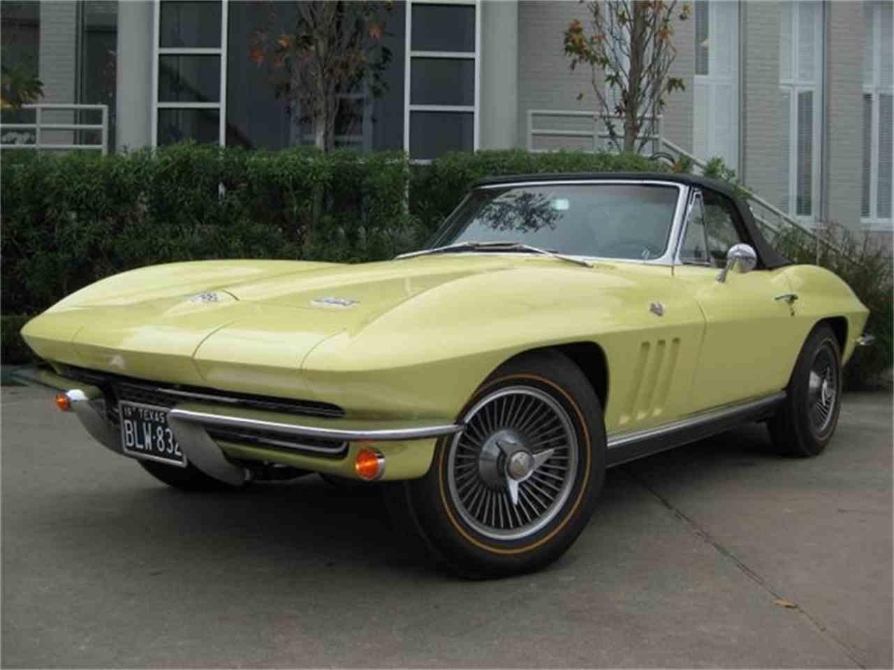 1966 chevrolet corvette for sale cc 765469. Black Bedroom Furniture Sets. Home Design Ideas