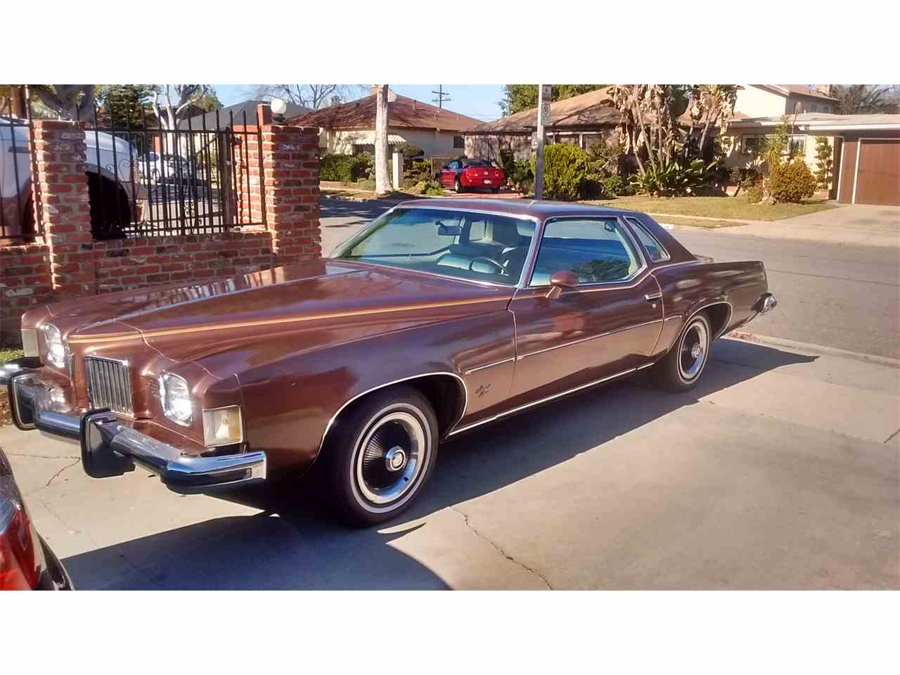 Large Picture of Classic 1973 Pontiac Grand Prix located in Inglewood California - $7,300.00 - GAVG