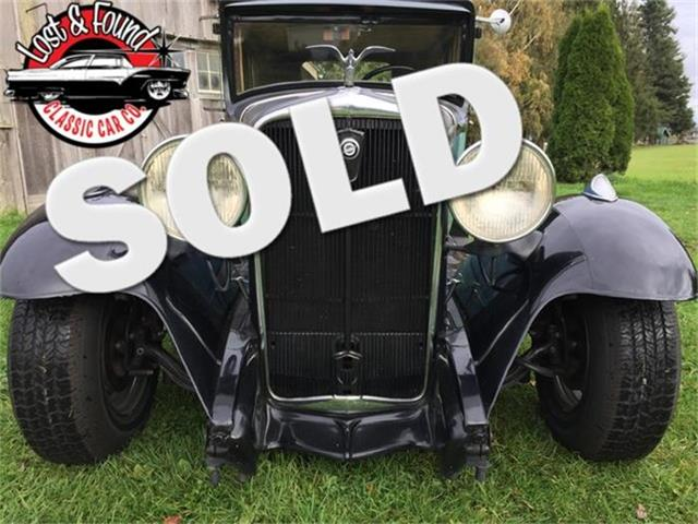 1931 Studebaker Dictator | 760720