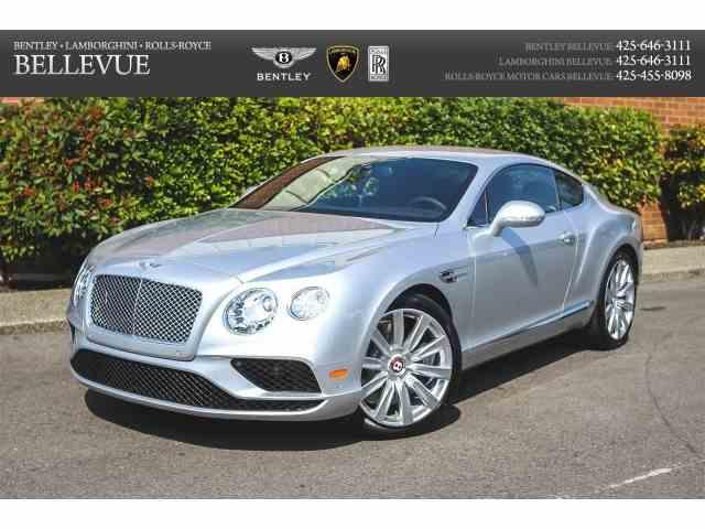 2016 Bentley Continental GT | 760744