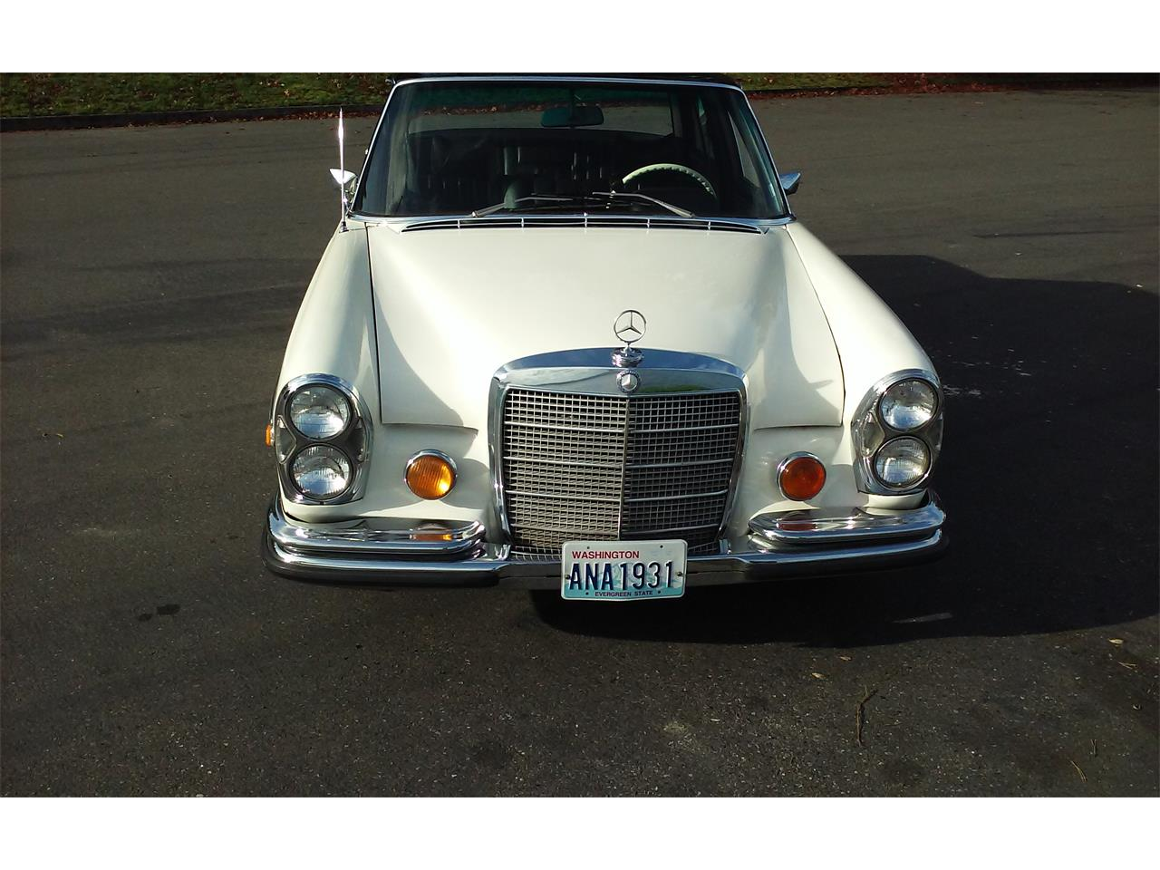 1972 mercedes benz 280sel for sale cc for Mercedes benz dealership seattle