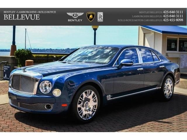 2016 Bentley Mulsanne S | 760779