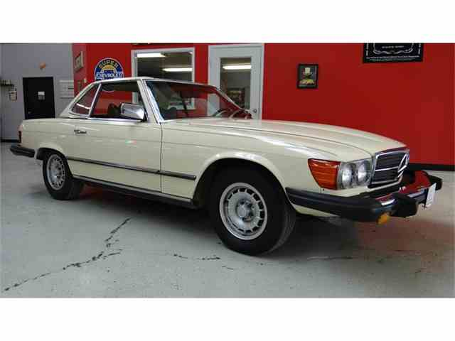 1979 mercedes benz 450sl for sale on 22 for Garage mercedes bron