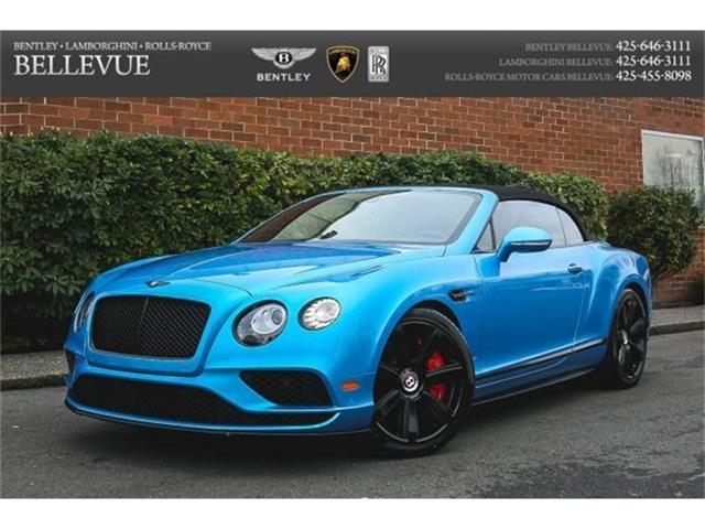 2016 Bentley Continental   760788