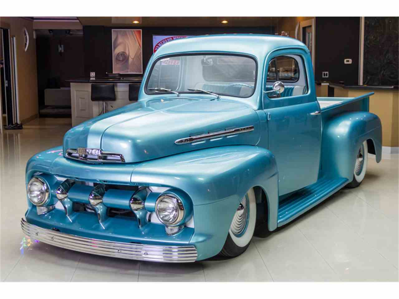 Large Picture of Classic '51 Ford F1 located in Plymouth Michigan Offered by Vanguard Motor Sales - GGMM