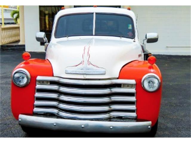 1947 Chevrolet 1 ton custom 1 car roll back tow rigg | 768219