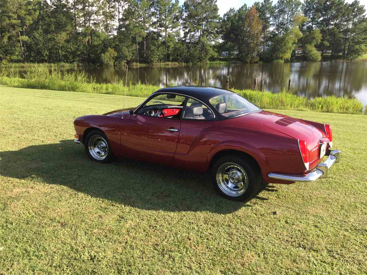 1973 volkswagen karmann ghia for sale cc 769173. Black Bedroom Furniture Sets. Home Design Ideas