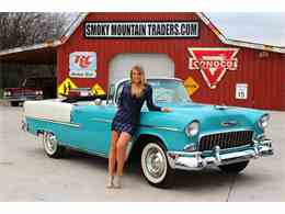 Picture of '55 Chevrolet Bel Air - $72,995.00 Offered by Smoky Mountain Traders - GHL6