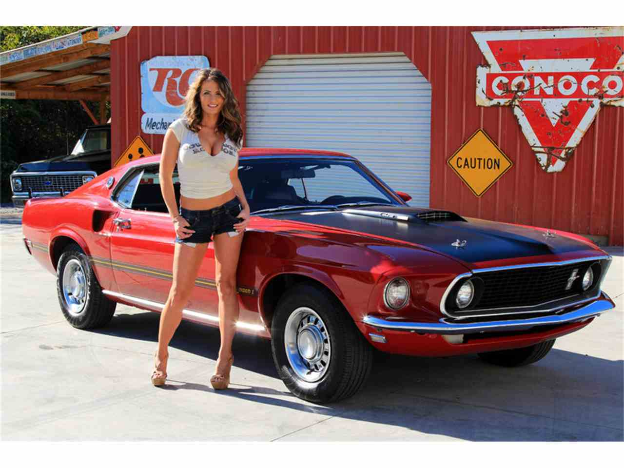 1969 ford mustang mach 1 for sale cc 769354. Black Bedroom Furniture Sets. Home Design Ideas
