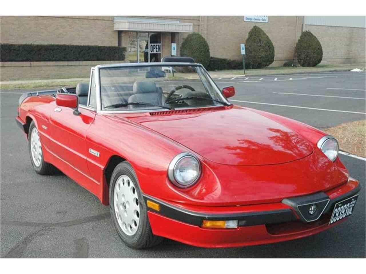 1988 Alfa Romeo Spider Quadrifoglio 5-Spd All the ...  |1988 Alfa Romeo Quadrifoglio