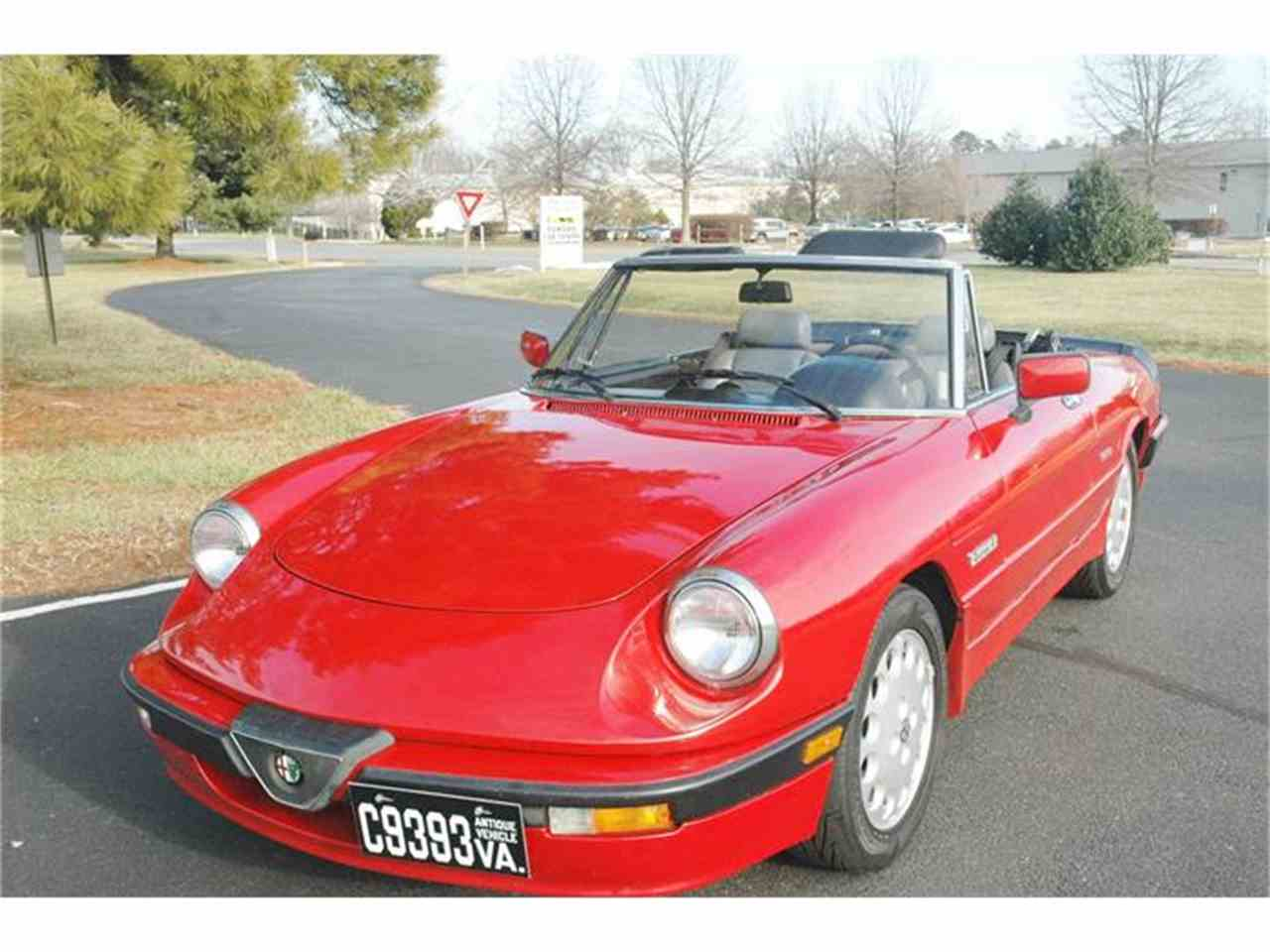 "Alfa Romeo - Spider 2.0 ""Quadrifoglio Verde"" - 1988 - Catawiki  |1988 Alfa Romeo Quadrifoglio"