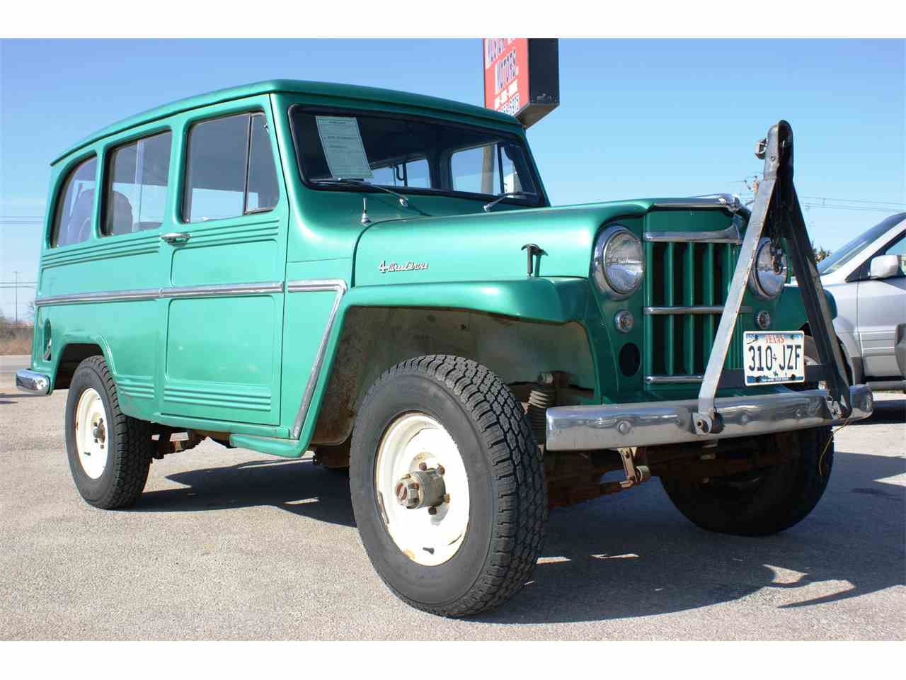1961 jeep willys for sale cc 771873. Black Bedroom Furniture Sets. Home Design Ideas