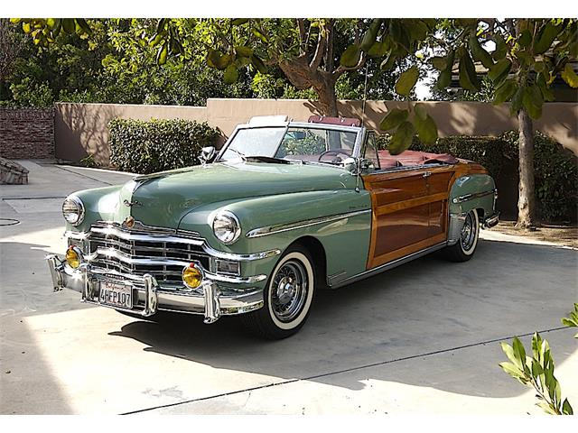 1949 Chrysler Town & Country   770201
