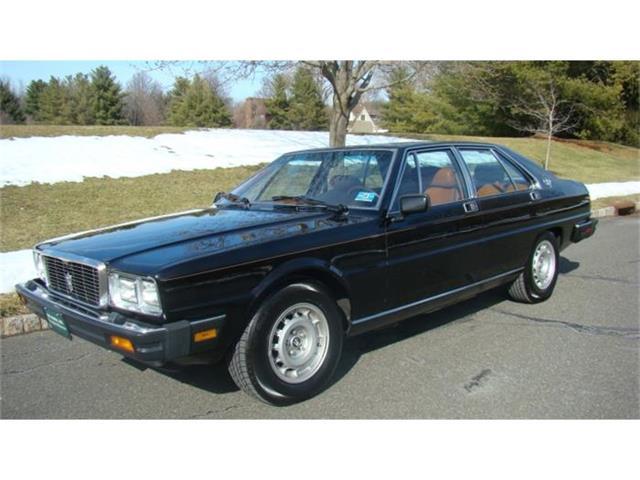 1986 Maserati Quattroporte | 772304