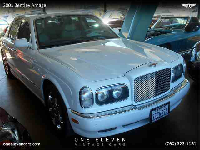 2001 Bentley Arnage | 772544