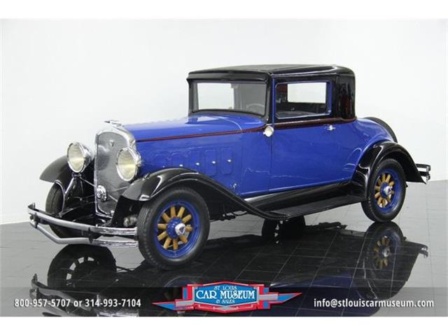 1931 Hudson 8 Rumble Seat 3-window Coupe | 772680
