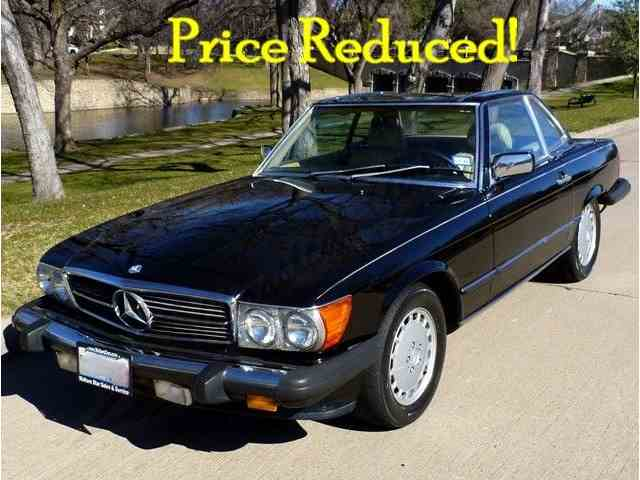 1986 MERCEDES-BENZ 560 SL COUPE | 770314