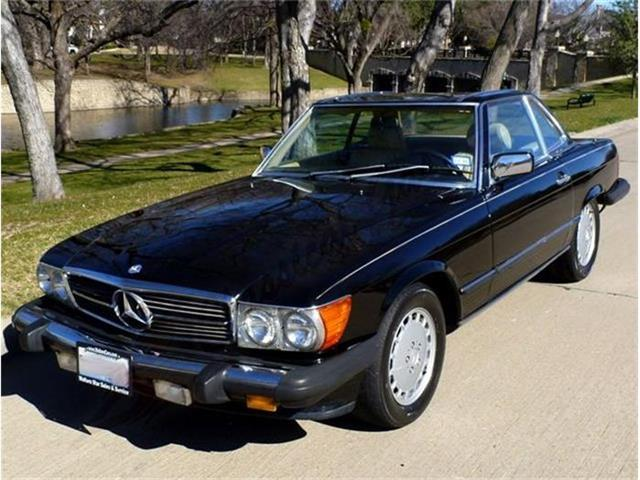 1986 MERCEDES-BENZ 560SL COUPE | 770314