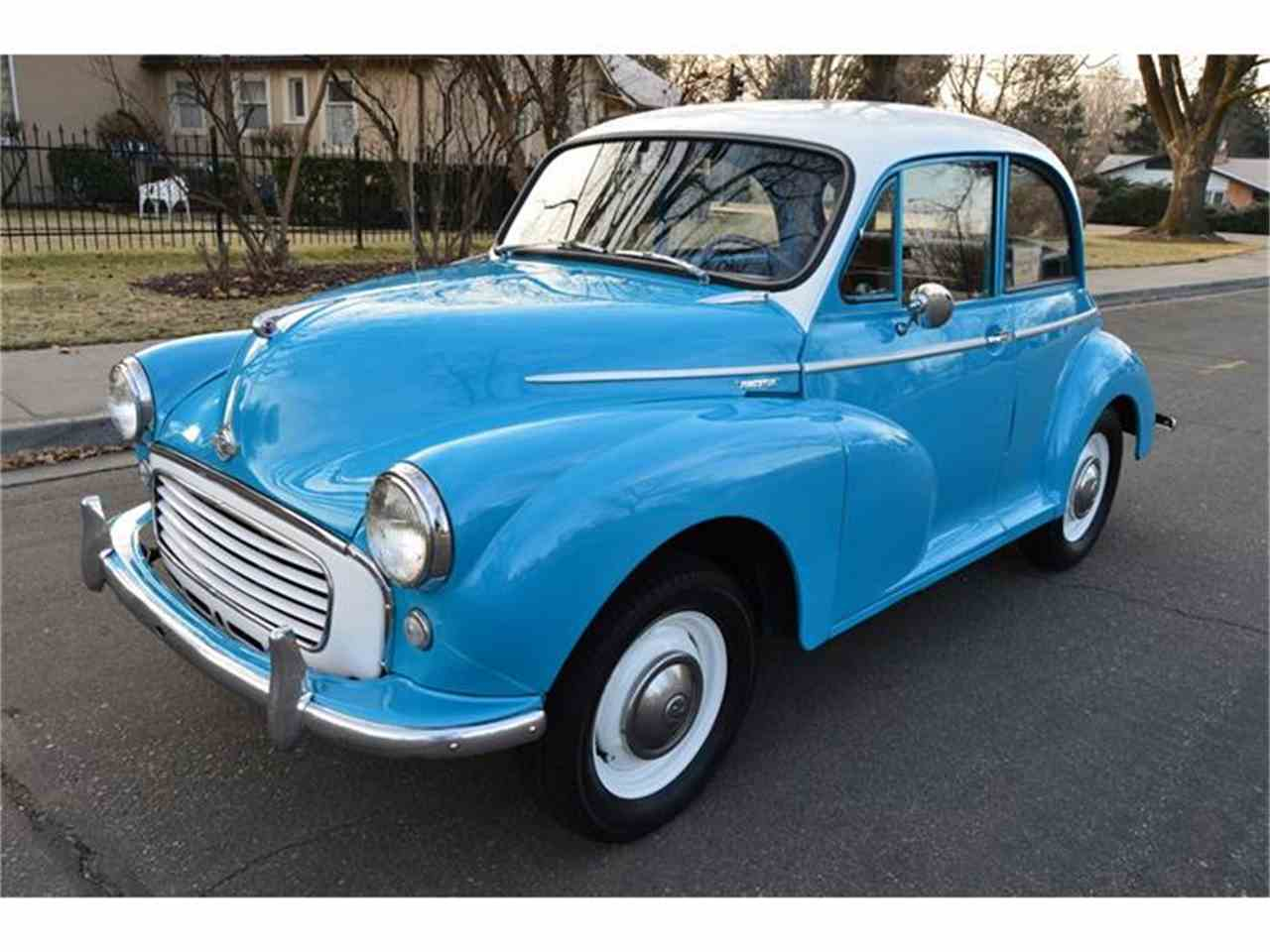 1959 morris minor for sale cc 775450. Black Bedroom Furniture Sets. Home Design Ideas