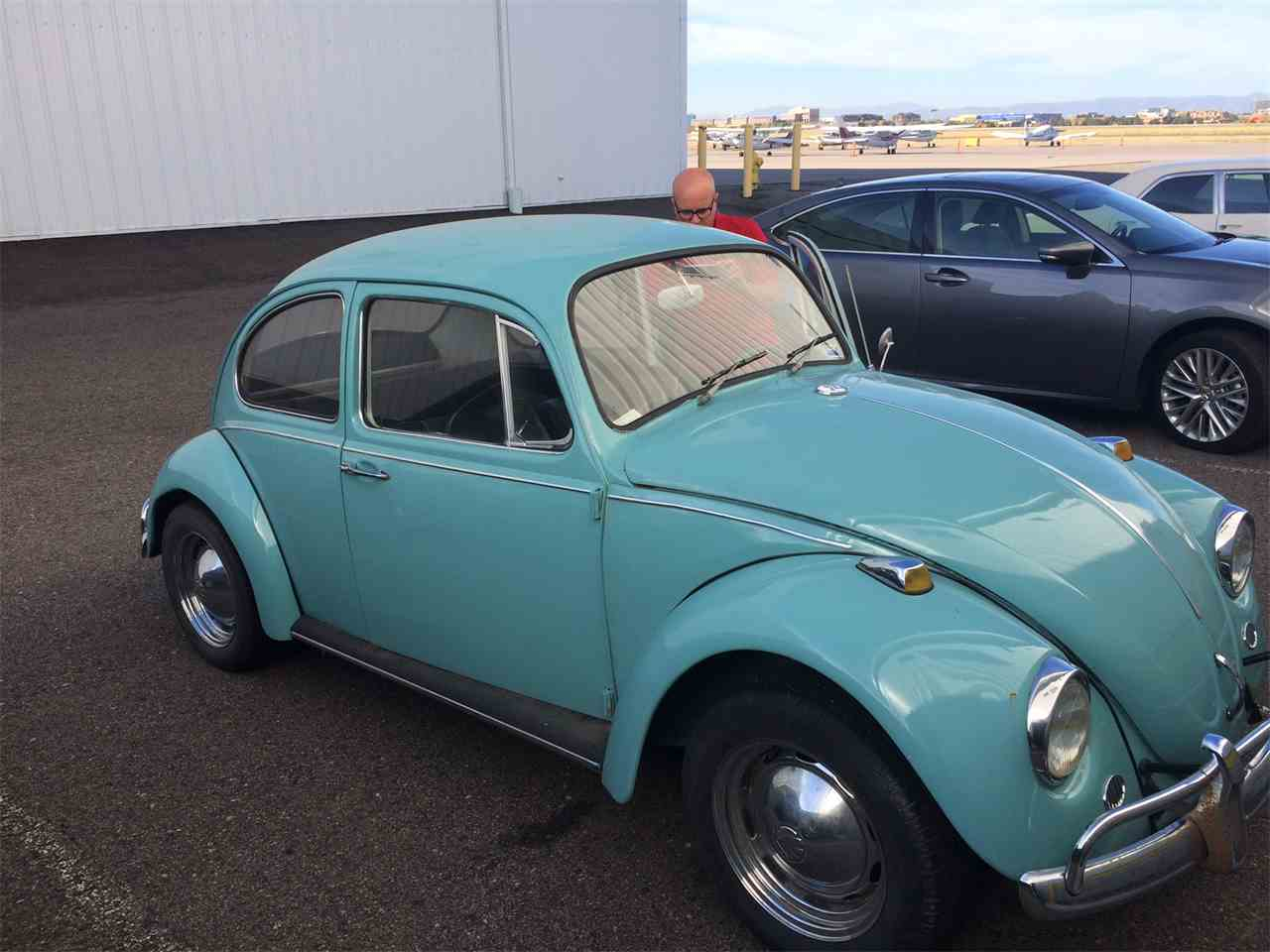 1967 volkswagen beetle for sale cc 776466. Black Bedroom Furniture Sets. Home Design Ideas