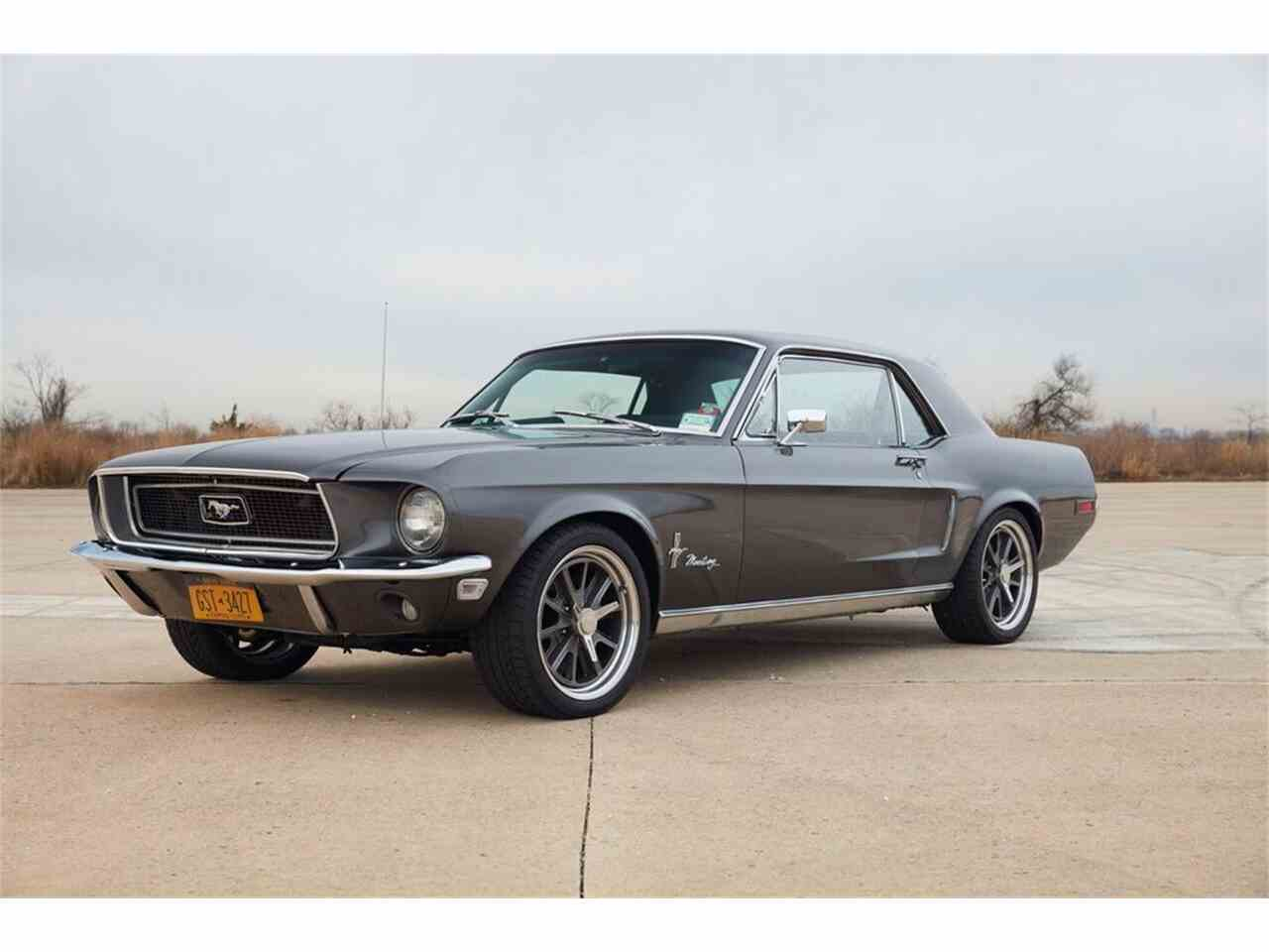 1968 ford mustang for sale cc 777068. Black Bedroom Furniture Sets. Home Design Ideas