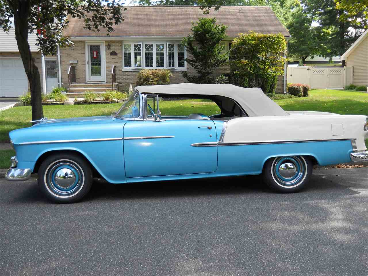 1955 chevrolet bel air for sale cc 778855. Black Bedroom Furniture Sets. Home Design Ideas