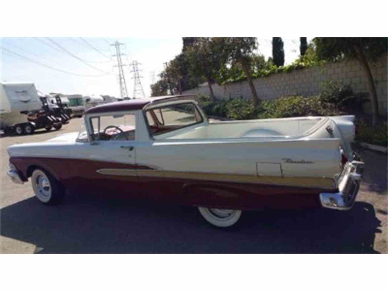 photo 2 - 1958 Ford Ranchero For Sale