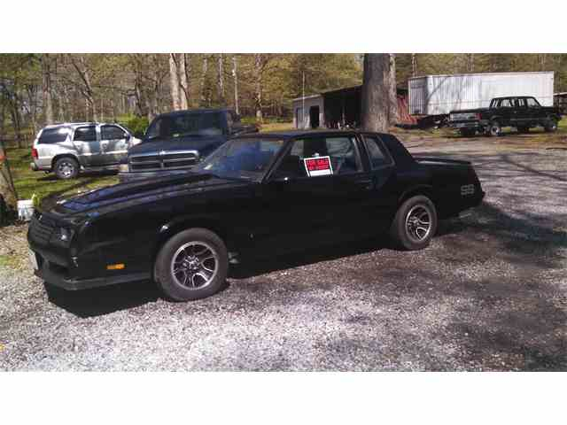1985 to 1987 Chevrolet Monte Carlo SS for Sale on ClassicCarscom