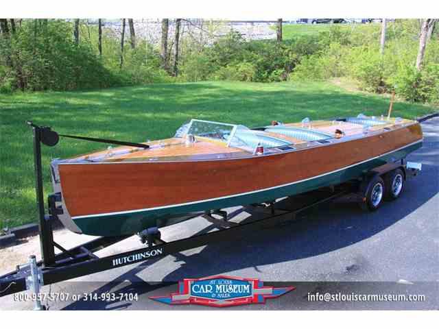 1934 Hutchinson 28' Triple Cockpit Gentleman's Runabout   785612