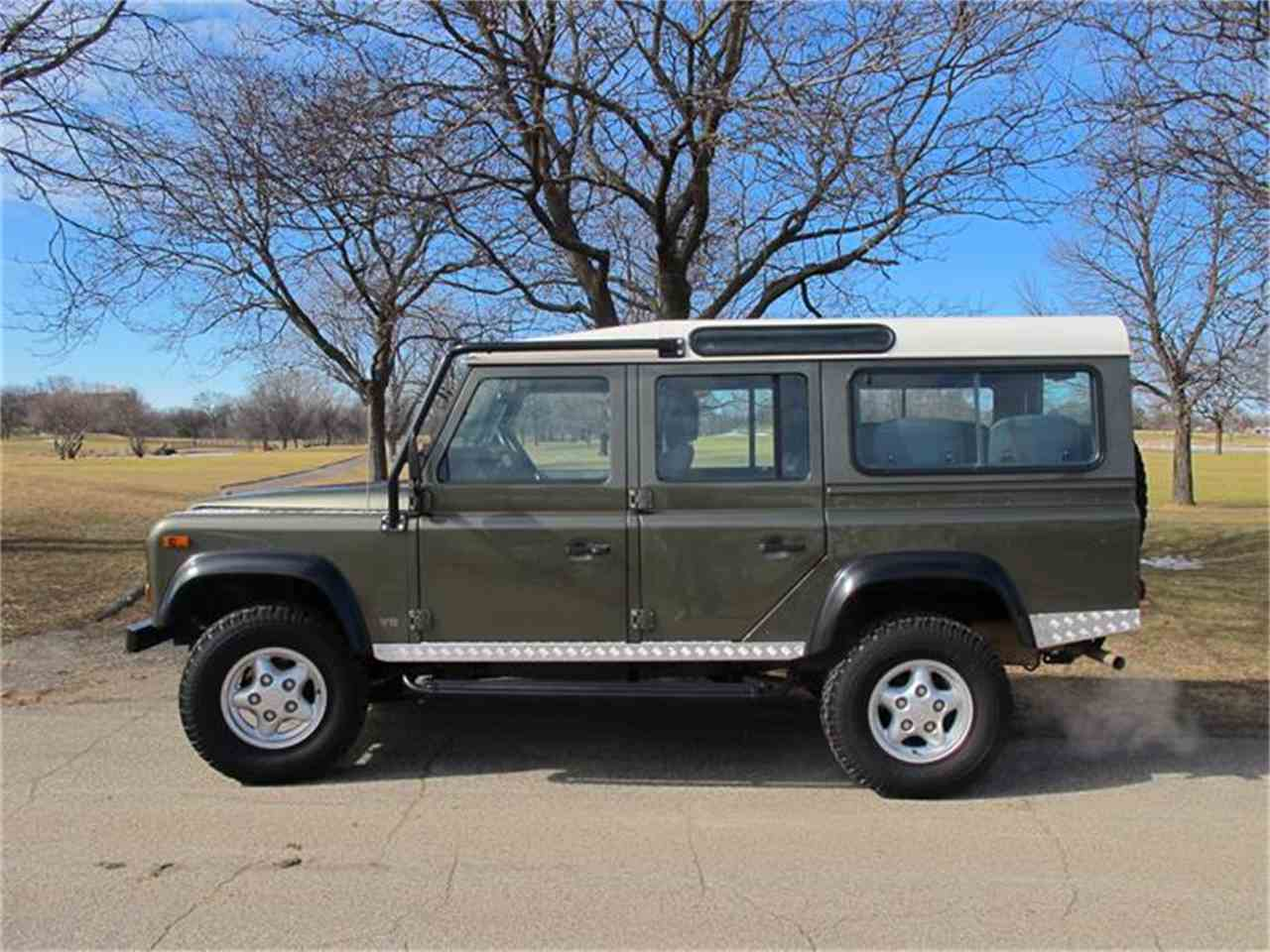 1997 land rover defender for sale cc. Black Bedroom Furniture Sets. Home Design Ideas