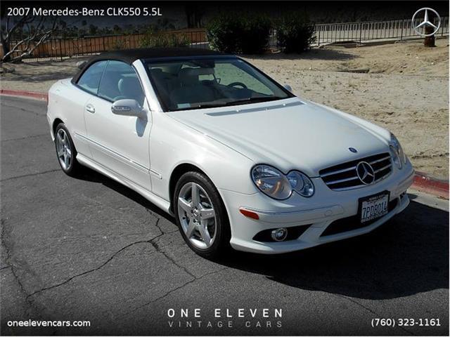 2007 Mercedes-Benz CLK550 | 786012