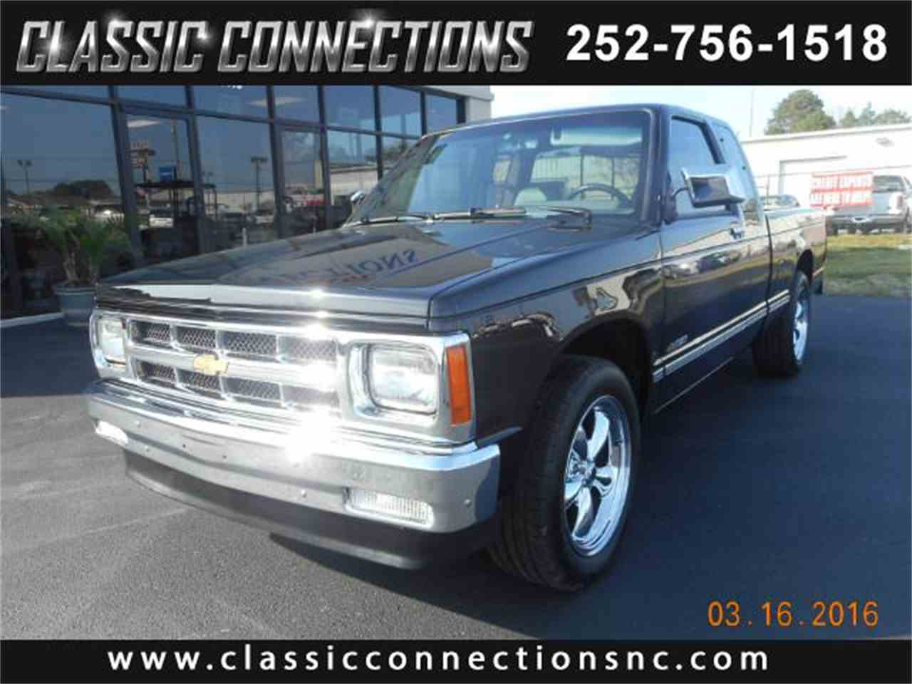 1993 chevrolet s10 for sale cc 787426. Black Bedroom Furniture Sets. Home Design Ideas