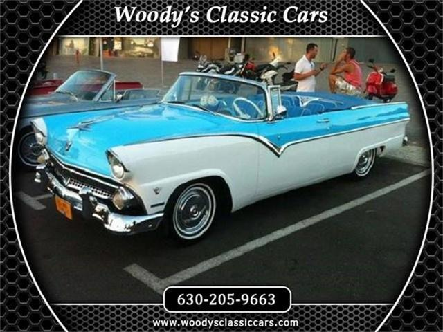 1955 Ford Fairlane Sunliner Convertible | 787471
