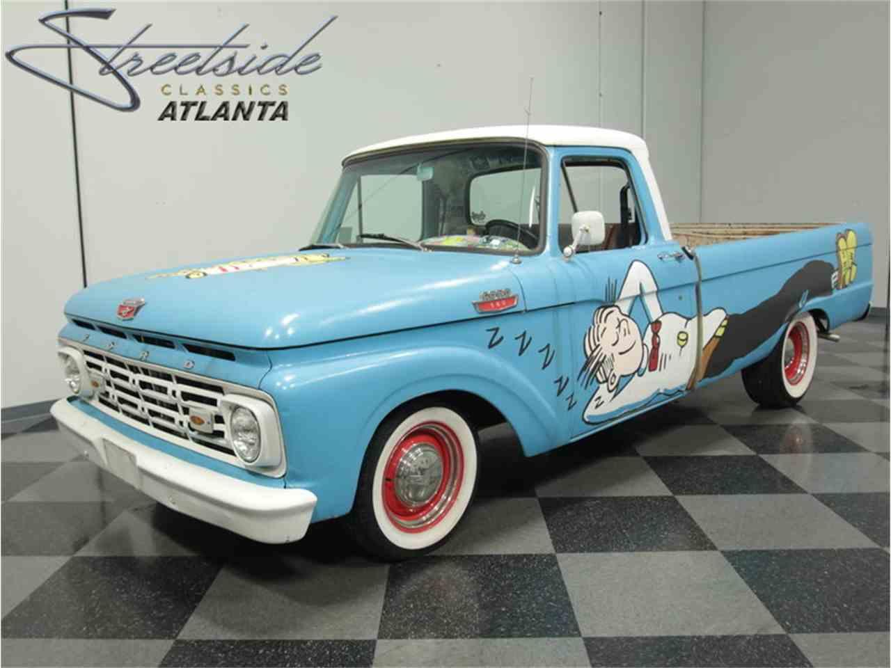 1964 Ford F100 For Sale Classiccars Com Cc 789336