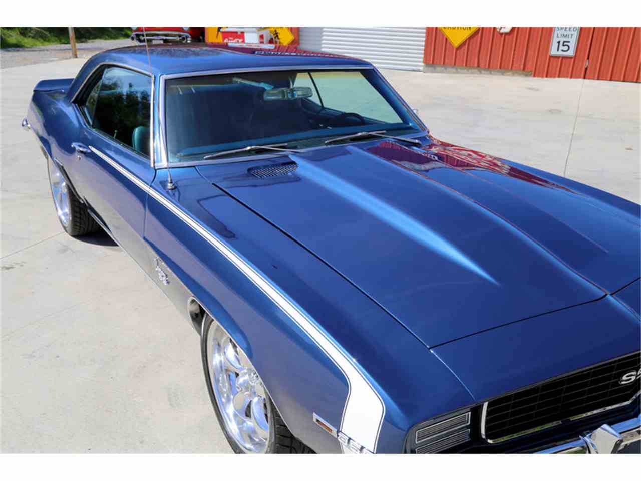 1969 chevrolet camaro ss for sale cc 791685. Black Bedroom Furniture Sets. Home Design Ideas