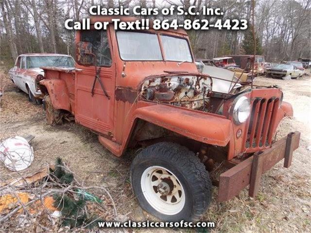 1958 Jeep Comanche   794519