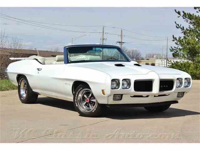 1970 Pontiac GTO Ram Air III, Automatic, AC, Documented | 800122