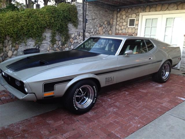 1971 ford mustang mach 1 for sale on 10. Black Bedroom Furniture Sets. Home Design Ideas