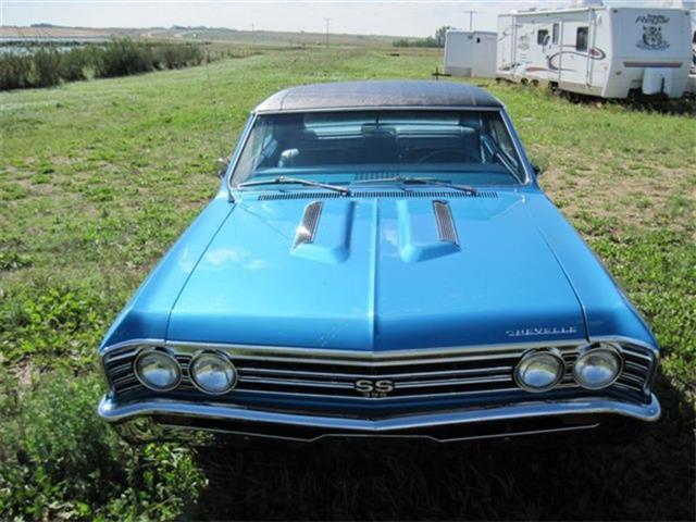 1967 Chevrolet SS396 Chevelle Marina Blue | 801351