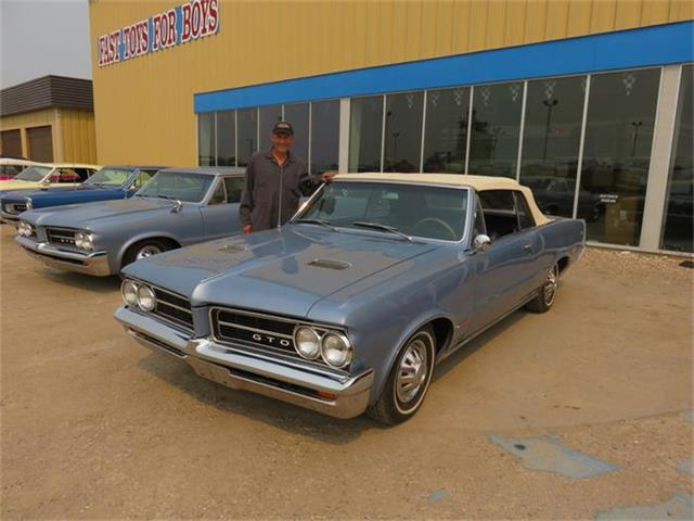 1964 Pontiac GTO Convertible Yorktown Blue | 801355