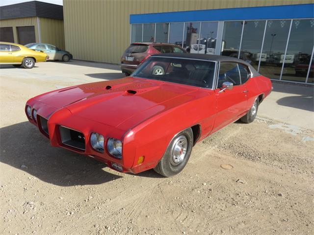 1970 Pontiac GTO HT Cardinal Red | 801358