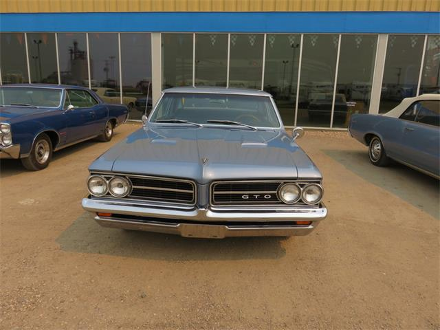 1964 Pontiac GTO Post Yorktown Blue | 801360