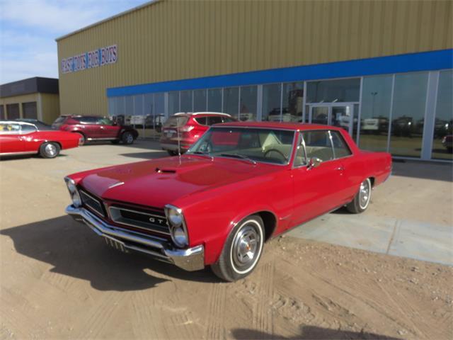 1965 Pontiac GTO HT Montero Red | 801362